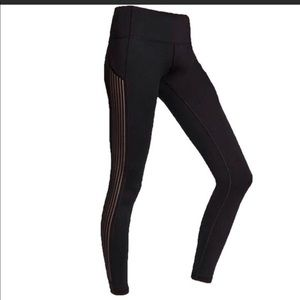 Victoria's Secret Sport Mesh Striped Legging